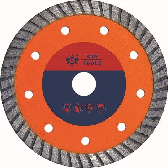 Hot Pressed Mid Turbo Diamond Saw Blade  Granite Cutting Marble 5 7 Inches