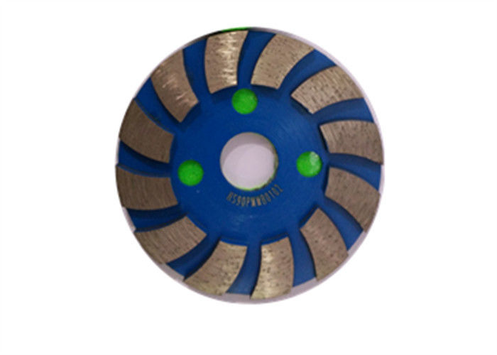 4'' Wide Segmented Diamond Cup Grinding Wheel For Concrete / Granite